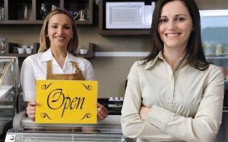 Открытие бизнеса: собственное кафе