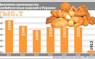Инвестиции в производство хлеба: рентабельность 50%