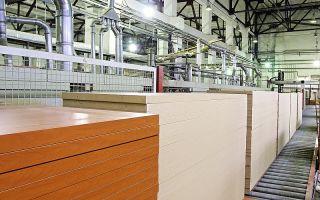Открытие бизнеса по производству плит мдф