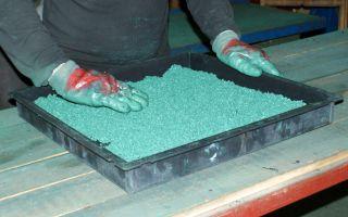 Свой бизнес: производство плитки из резиновой крошки