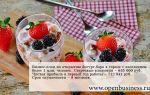 Свой бизнес: бизнес-план йогурт-бара