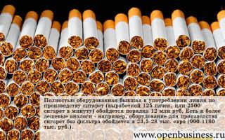 Свой бизнес по производству сигарет: как открыть табачную фабрику
