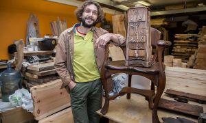 Творческий бизнес: резьба по дереву