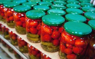Производство плодовоовощных консервированных продуктов