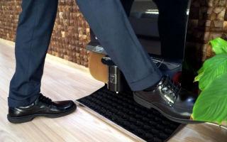 Аппарат чистки обуви окупается менее чем за 1 год