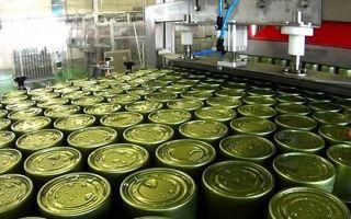 Производство и продажа мясной консервной продукции
