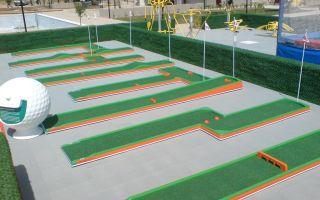 Бизнес-план корта для мини-гольфа