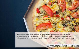 "Бизнес-план пиццерии ""экзопицца"""