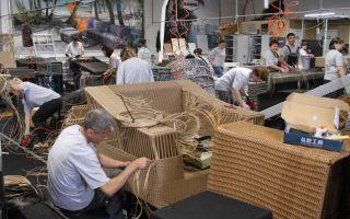 Как открыть бизнес по производству плетеной мебели