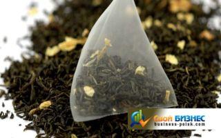 Свой бизнес: производство пакетированного чая