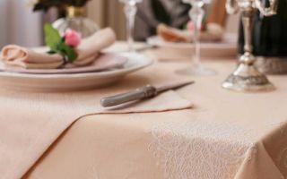 Свой ресторан: особенности закупки столового белья