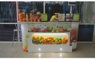 Бизнес-план сети торговых точек по продаже сладкой ваты и свежевыжатых соков