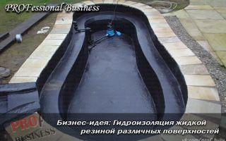 Свой бизнес: гидроизоляция жидкой резиной