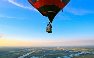 Романтичный бизнес: полеты на воздушном шаре (тепловом аэростате)