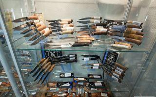 Бизнес-план специализированного магазина ножей
