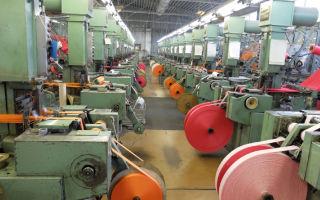 Свой бизнес: производство лентоткацких изделий