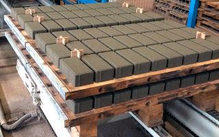 Cвой бизнес: производство тротуарной плитки