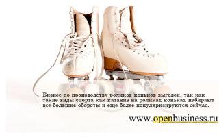 Ролики и коньки: производство, прокат, продажа