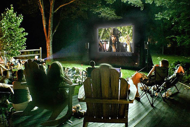 Свое дело: кинотеатр под открытым небом