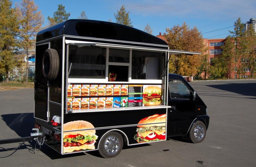 Свой бизнес: как открыть кафе на колесах