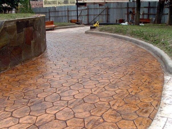 производство декоративного бетона